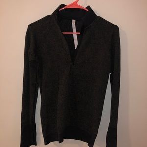 lululemon half zip top